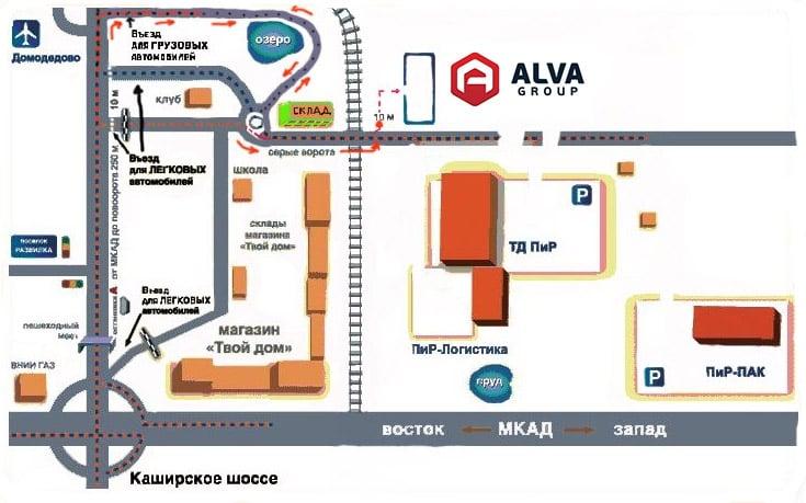 Схема проезда