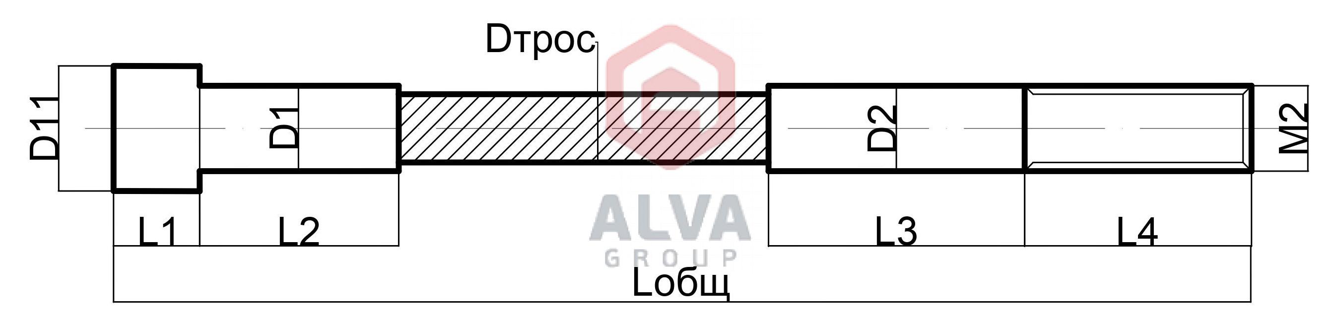 Трос тип 1